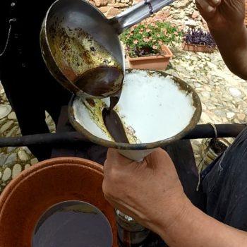 spremitura tradizionale in Sardegna